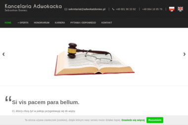 Kancelaria Adwokacka Sebastian Doniec - Adwokat Gorlice