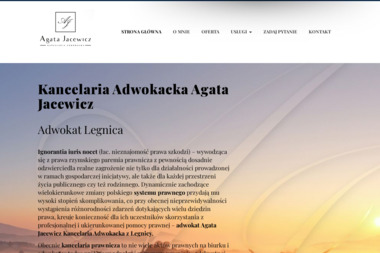 Agata Jacewicz KAncelaria Adwokacka - Obsługa prawna firm Legnica