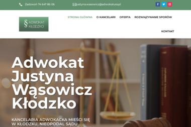 Kancelaria Adwokacka - Adwokat Justyna Wąsowicz - Adwokat Kłodzko