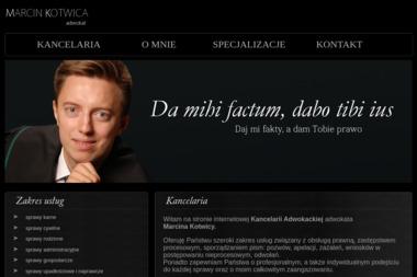 Adwokat Marcin Kotwica - Adwokat Opole