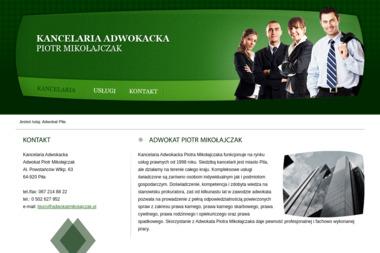 Kancelaria Adwokacka Adwokat Piotr Mikołajczak - Adwokat Piła