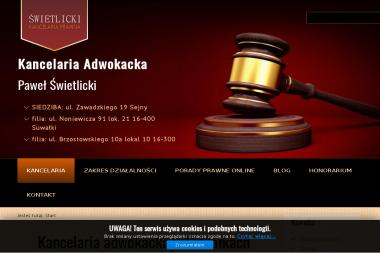 Świetlicki Kancelaria Prawna - Windykacja Suwałki