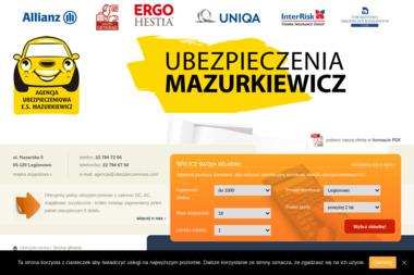Ubezpieczenia Mazurkiewicz - Ubezpieczenie firmy Legionowo