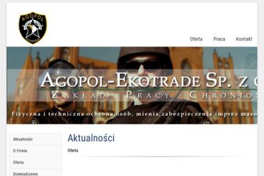 AGOPOL-EKOTRADE Sp. z o.o. ZPChr - Kancelaria prawna SŁUPSK