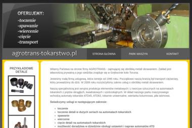 AGROTRANS - usługi tokarsko-ślusarskie - Tokarz Grębocin