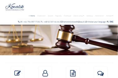Kancelaria Adwokacka Kowalik - Adwokaci Od Rozwodu Świecie