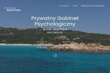 Prywatny Gabinet Psychologiczny dr hab. n. hum. Alicja Kalus - Psycholog Opole