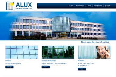 """ALUX"" Systemy Aluminiowe i PCV - Stolarka Aluminiowa Puławy"