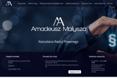 Kancelaria Radcy Prawnego Amadeusz Małysza - Windykacja Biłgoraj
