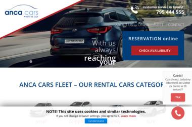 ANCA CARS - Wypożyczalnia samochodów Warszawa