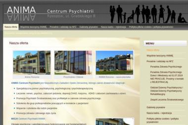 """Centrum Psychiatrii """"ANIMA"""" - Pomoc Psychologiczna Rzeszów"""