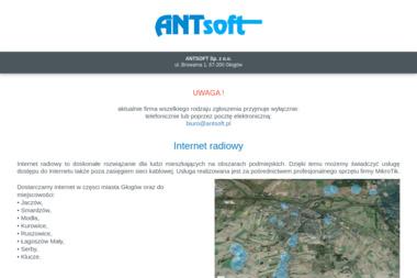 ANTSOFT Sp. z o.o. - Internet Głogów