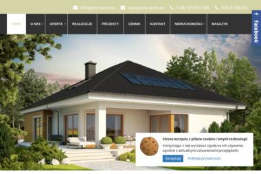 """Z.P.R.B. """"AREX""""  Arkadiusz Cebrat - Domy z bali Żywiec"""