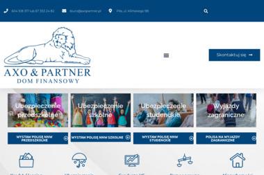 AXO & PARTNER Dom Finansowy - Ubezpieczenie samochodu Piła