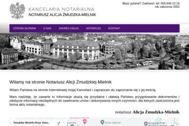 Kancelaria Notarialna - Notariusz Alicja Żmudzka-Mielnik - Kancelaria prawna Słupsk