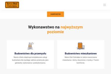 """Beton - Stal Ostrołęka"" Sp. z o.o. - Prace Zbrojarskie Ostrołęka"