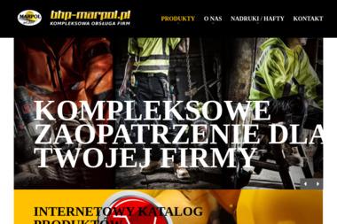 Marpol Artykuły BHP - Regały Paletowe Olsztyn
