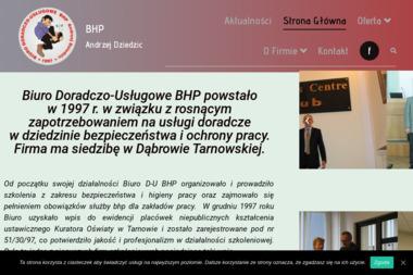 Biuro Doradczo-Usługowe BHP Andrzej Dziedzic - Szkolenia Dąbrowa Tarnowska