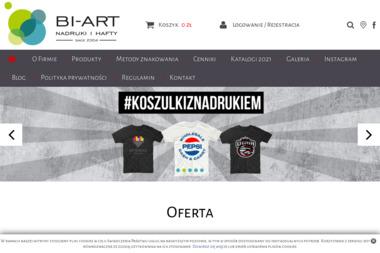 Bi-Art - Nadruki na odzieży Katowice