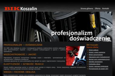 BIK Koszalin - Wózki Widłowe Koszalin