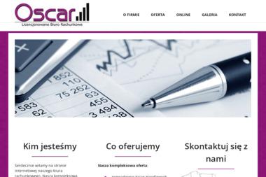 "Licencjonowane Biuro Rachunkowe ""OSCAR"" - Biznes plan Mielec"