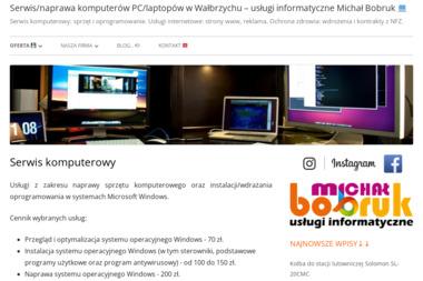 Usługi informatyczne Michał Bobruk - Strony internetowe Wałbrzych