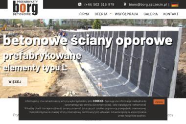 BORG - Prefabrykaty Betonowe Szczecin