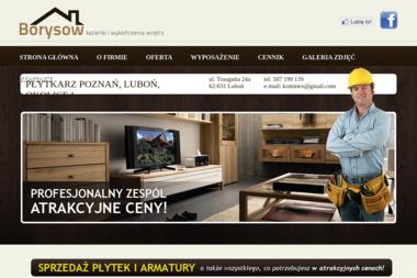 Borysow - kompleksowe usługi remontowe - Tapetowanie Luboń