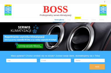Profesjonalny Serwis Klimatyzacji - Boss - Naprawa Klimatyzacji Samochodowej Dąbrowa Górnicza