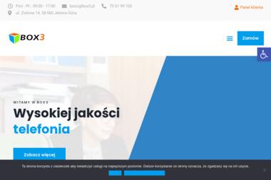Box3 - Dostawcy internetu, usługi telekomunikacyjne Jelenia Góra