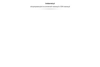 Firma BROK - Paleciaki Lublin
