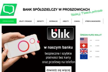 Bank Spółdzielczy w Proszowicach Centrala - Doradcy Kredytowi Proszowice