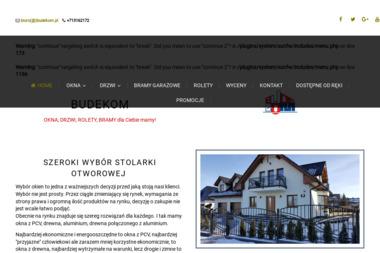 Budekom S.C. - Okna drewniane Sobótka