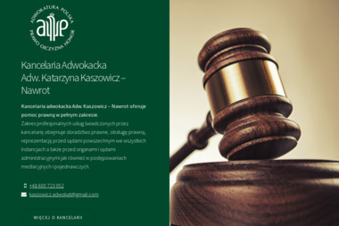 Kancelaria Adwokacka Adw. Katarzyna Kaszowicz – Nawrot - Adwokat Busko-Zdrój