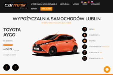 Carmas - Wypożyczalnia Samochodów - Wypożyczalnia samochodów Lublin
