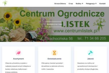 Centrum Ogrodnicze LISTEK - Ogród i rośliny Wrocław