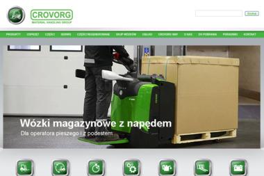 CROVORG GROUP - Wózki widłowe Nadarzyn