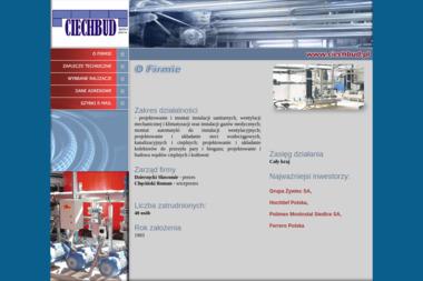 Ciechbud Sp.j. - Klimatyzacja Ciechanów