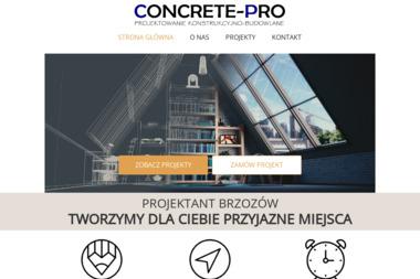 CONCRETE-PRO  mgr inż. Łukasz Cyptor - Projekty domów Brzozów