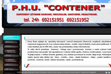 "P.H.U. ""CONTENER"" - Domy modułowe Tarnów"