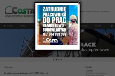 S.C. COSTA  Usługi Remontowo-Budowlane - Gładzie Wałbrzych