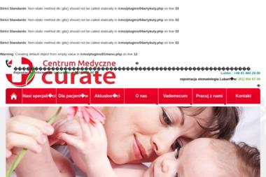 """Centrum Medyczne """"CURATE"""" - Dietetyk Lubartów"""