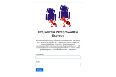 Przeprowadzki Piotr Czajkowski - Przewóz Mebli Olsztyn