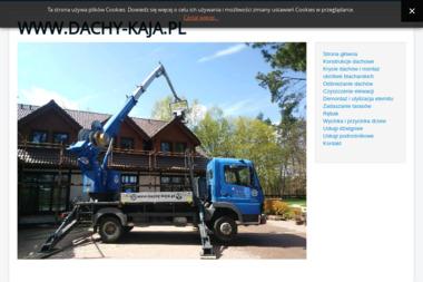 """""""KAJA"""" Piotr Czucha - Odśnieżanie Kościerzyna"""