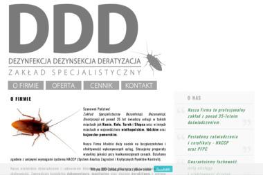 Zakład Specjalistyczny Dezynfekcji, Dezynsekcji, Deratyzacji - Dezynsekcja i deratyzacja Konin