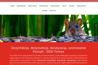 Tomex – Specjalistyczny Zakład Dezynfekcji, Dezynsekcji i Deratyzacji - Dezynsekcja i deratyzacja Poznań
