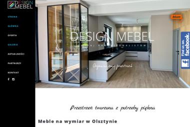 DESIGNMEBEL - Szafy na wymiar Olsztyn