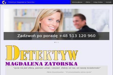 Detektyw Magdalena Zatorska - Biuro Detektywistyczne Kielce