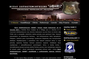 Biuro Detektywistyczne 'GEWET' - Detektyw Elbląg