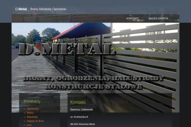 D.METAL - Płoty Metalowe Zduńska Wola